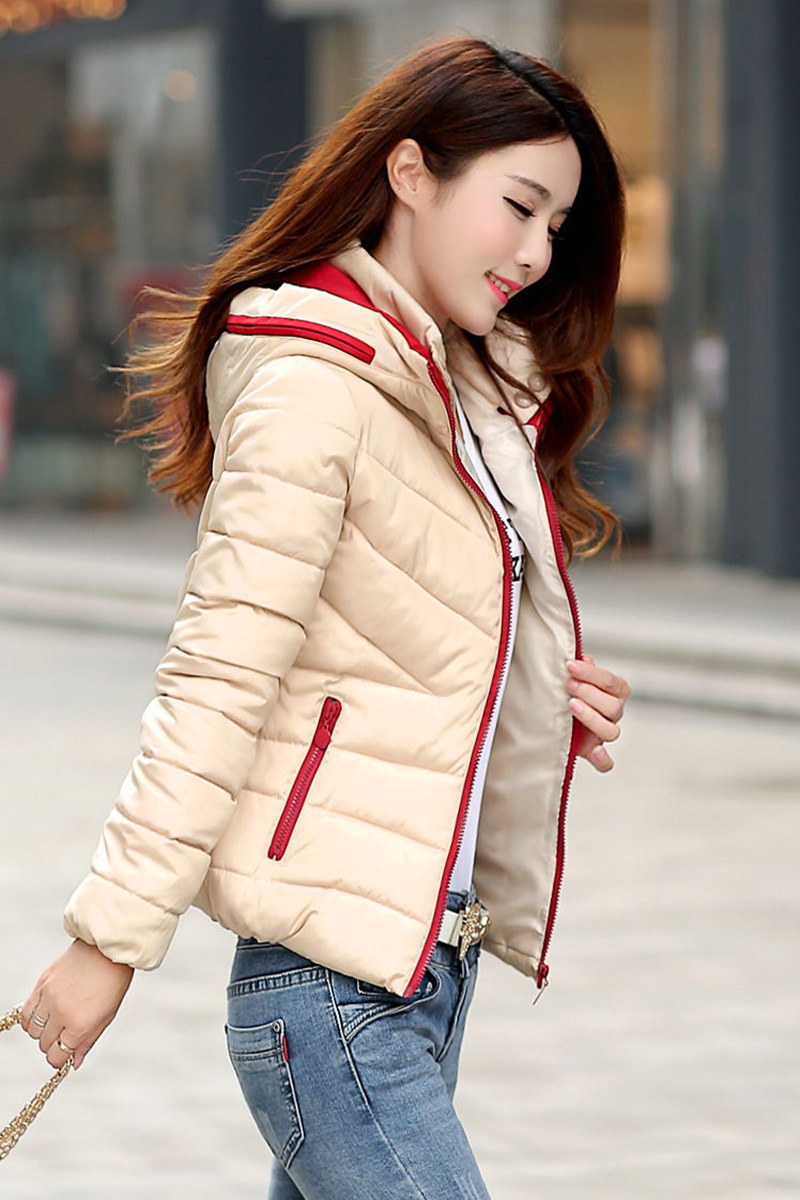 Plus Size Slim Winter Jacket Women 2015 New Fashion Hotsales Down Coat Womens Cottone Padding Chaquetas Mujer Outerwear H4110Одежда и ак�е��уары<br><br><br>Aliexpress