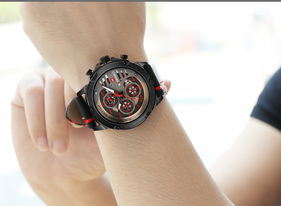 Mens Watches Top Brand Luxury Waterproof