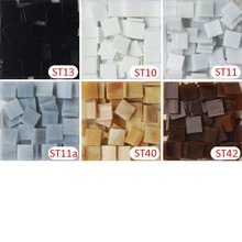 200gram/135 pcs 15 X 15mm 9/16 inch Stained Glass Tile, Mosaic Hobbies, DIY Material Supplier, Mini Loose Tiffany Glass Pieces(China)