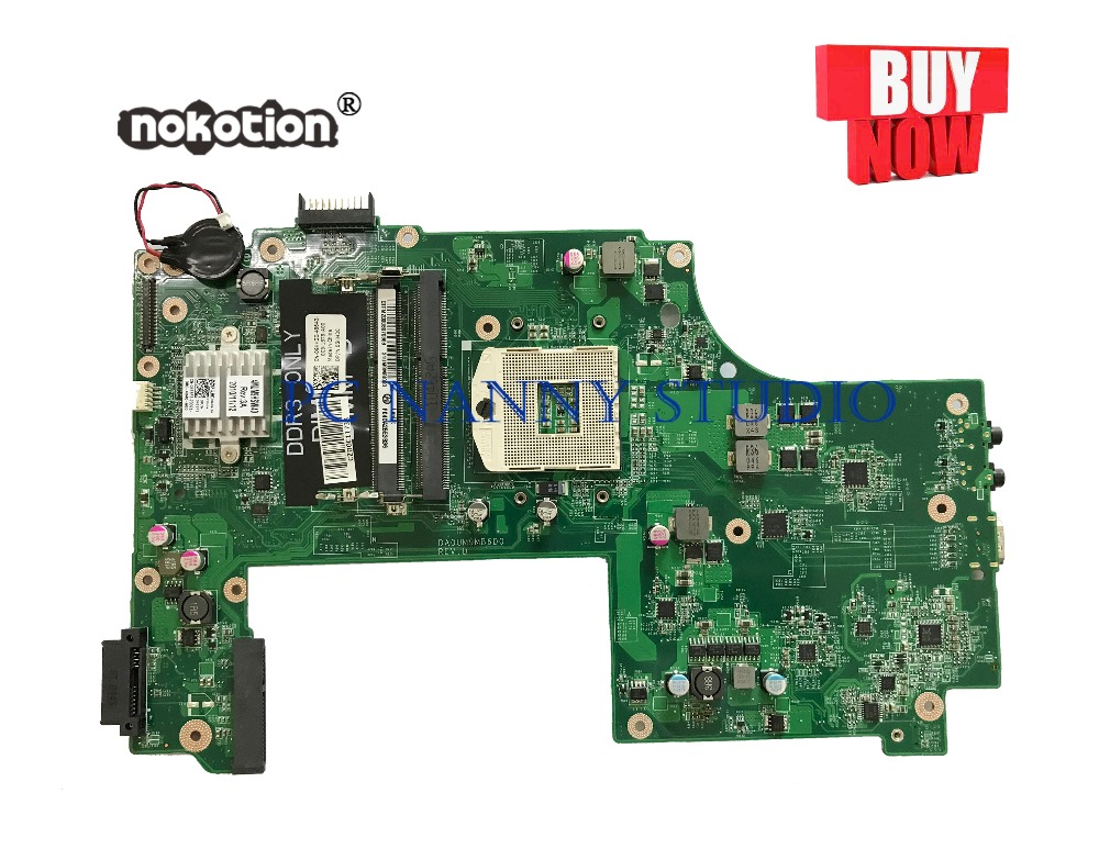 PANANNY 0GKH2C GKH2C for Dell Inspiron 17 17R N7010 Laptop Motherboard DAUM9BMB6D0 HM57 DDR3  tested