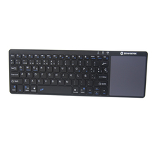 Zoweetek K12BT-1  Air Mouse Mini Portable 2.4GHz Spanish layout Keyboard Touchpad Remote Game Controller Wireless Keyboard
