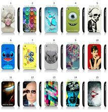 Hot sale fashion cartoon person white hard plastic cases for iPhone 3 3GS Free Shipping