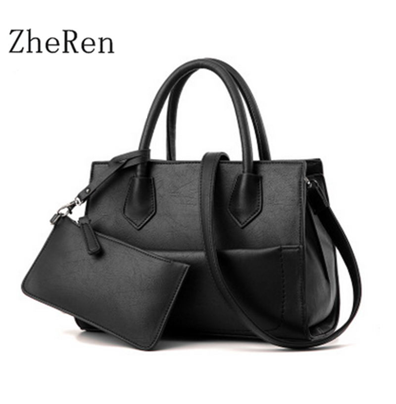 Casual Tote2017 new fashion handbags wholesale picture Vintage handbag two piece trade single shoulder bag<br><br>Aliexpress