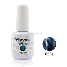 50pcs Magneto gel nail primer UV Nail Gel Top Coat Top it off + Base Coat Foundation for UV Gel Polish Best on 15ml Nail sticker(China)