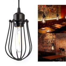 Vintage Industrial Loft Ceiling Lamp Chandelier Pendant Lighting Fixture Hanging suitable for cafe/bar/home decor(China)