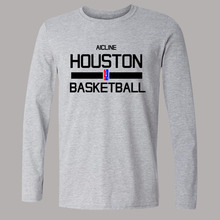 2015 Training Wear T shirt Basketball Long-sleeved T-shirt cleveland HONSTON SANANTONIO  Uniforms Loose shirt