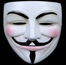 V for Vendetta halloween masks anonymous mask guy fawkes mask halloween props cosplay masquerade masque costume accessories