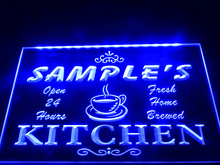 DZ004- Name Personalized Custom Mom Kitchen Bar Neon Sign  hang sign home decor  crafts