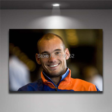 Wesley Sneijder Netherlands Soccer Player Football Star Wall Picture Canvas Print  Painting Boy's Room  Wall Decor