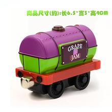 X145 new diecast magnetic Thomas & Friends alloy sodor grape jam transport Tanker trucks children toy Limited Edition