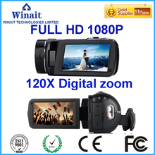 2017 Newest 1080P Super Zoom Digital Video CameraProfessional Camcorder Mini Camera Max 24MP Best DV 3''0 Touch Screen Free Ship(China)