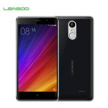 Original LEAGOO M5 5inch Smartphone Android 6.0 MTK6580 Quad Core 2GB RAM 16GB ROM Dual Sim GPS Fingerprint 3G Mobile Phone