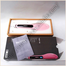 Ceramic Plate High Quality Best Price Beautiful Hair Straightener Brush With LCD Display Hair Iron Comb