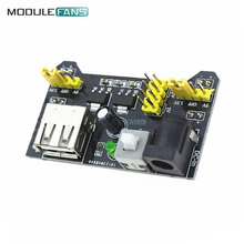MB102 Power MB102 Breadboard Power Supply Module 3.3V 5V For Arduino Solderless Compatible Bread board 700mA(China)