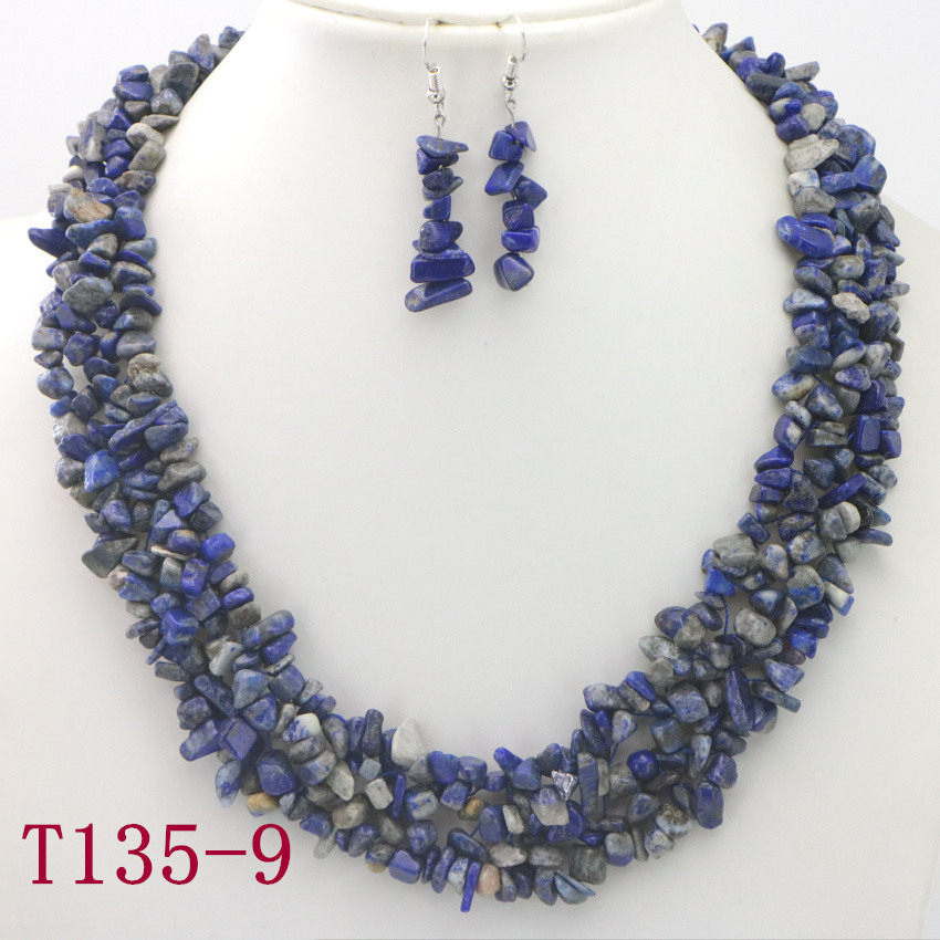 9 Natural Lapis lazuli Necklace wholesale sterling silver 925 heart shaped necklace statement necklace cute necklaces wholesale jewelry (3)