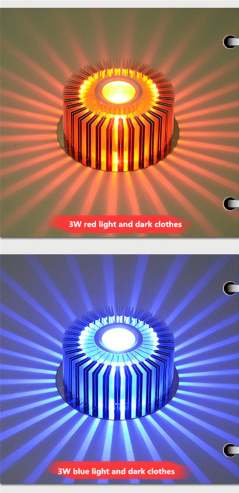 LED Crystal Aisle Celling Light (3)