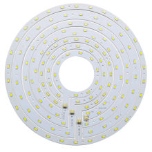 Round LED Ceiling Light Panel Board 12W 15W 18W 24W SMD 5730 Ring Magnetic Lamp Plate White/Warm White With Magnet Screw Driver(China)