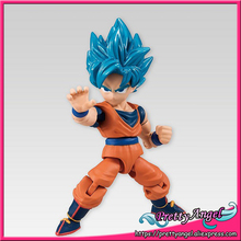 Japan Anime Original Bandai Tamashii Nations 66 ACTION Dragon Ball SUPER Toy Figure - Super Saiyan God Super Saiyan Son Gokou