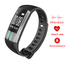 Buy G20 ECG+PPG Monitoring Smart Bracelet Fitness Activity Tracker Blood Pressure Wristband Pulsometro PK id107 Xiaomi mi band 2 for $35.11 in AliExpress store