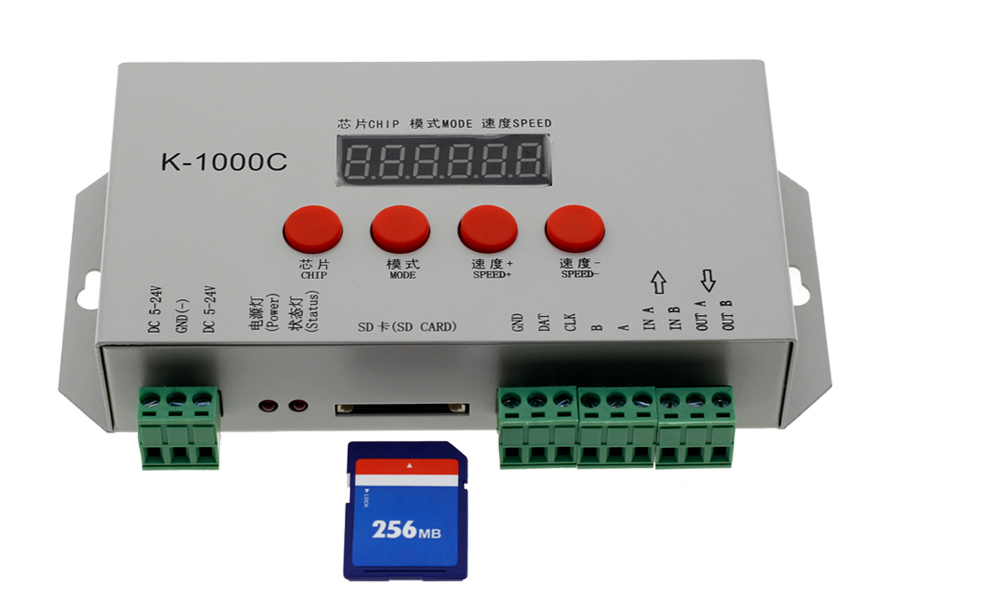 K-1000C T-1000S Full Color Controller (11)