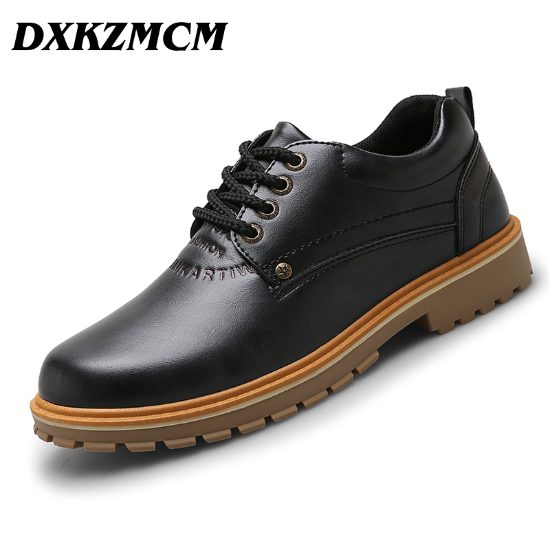 DXKZMCM Men Casual Shoes,Autumn Man Shoes Retro Tooling Shoes<br>