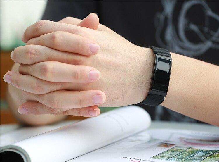 Microwear X3 IP68 Waterproof smart fitness bracelet pedometer blood pressure smart wristband Android iOS fitness tracker 8
