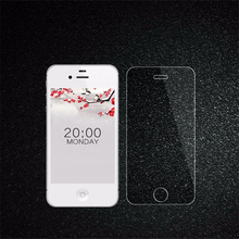 0.28mm Tempered Glass for iPhone 4 4s 5 5s SE 9H screen protector protective guard film case for IPhone 6 6s 6 plus +Clean Tools(China)