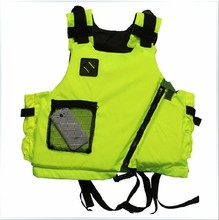 Free shipping New brand Kayak Life Jacket Buoyancy aids,Surfing Lifejacket,life vest, Fluorescent yellow and orange(China)