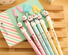 12 pcs/Lot Sunny doll gel pen for writing Japanese kawaii pens stationery papelaria Office supply school canetas escolar