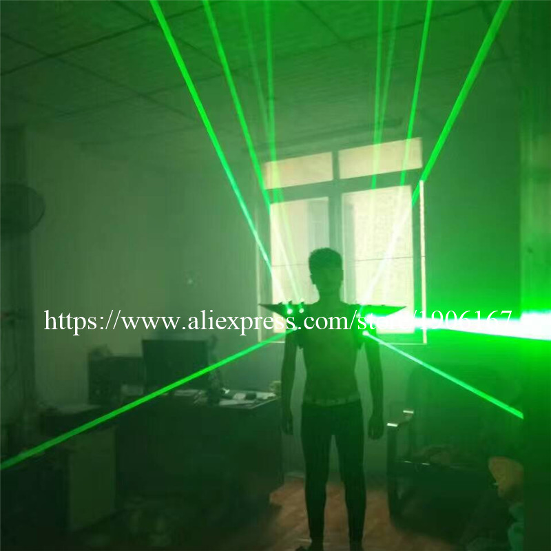 Fashion Red color men Laser vest Costumes cloth suit LED laser bar party props performing luminous clothing dj disco dress show04