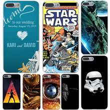 Star Wars Marvel Hard Transparent Case Cover for iPhone 7 7 Plus 6 6S Plus 5 5S SE 5C 4 4S