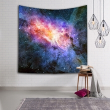 Creative Galaxy Star Starry Sky Pattern Tapestry Yoga Mat Table Cloth Home Decor Wall Hanging Printed Beach Towel Throw Blanket
