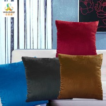 Luxury Velvet Home Decor Cushion Cover  Square Decorative Throw Pillow Cases Sofa Pillowslip Bed Car Hidden Zipper Soft  45x45cm