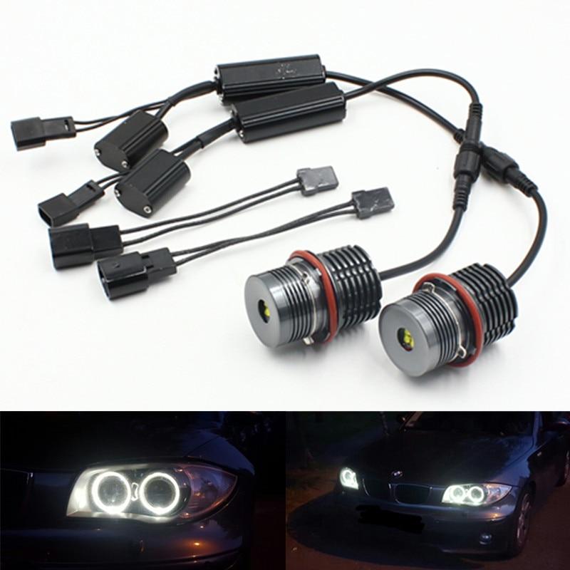 5w RED LED Angel Eye Marker Xenon For BMW E39 E53 E60 E61 E63 X5 5 Serie