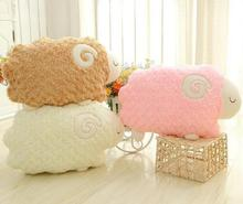 Rose velvet plush toys sheep home aromatherapy pillow car pillow cushions plush animals(China)