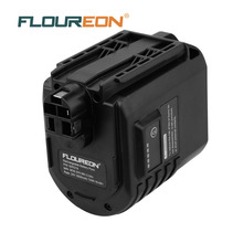 FLOUREON BAT019 24V 3000mAh Rechargeable Battery Pack Power Tools NI-MH Batteris Replacement for Bosch GBH 24VFR GBH24VRE(China)