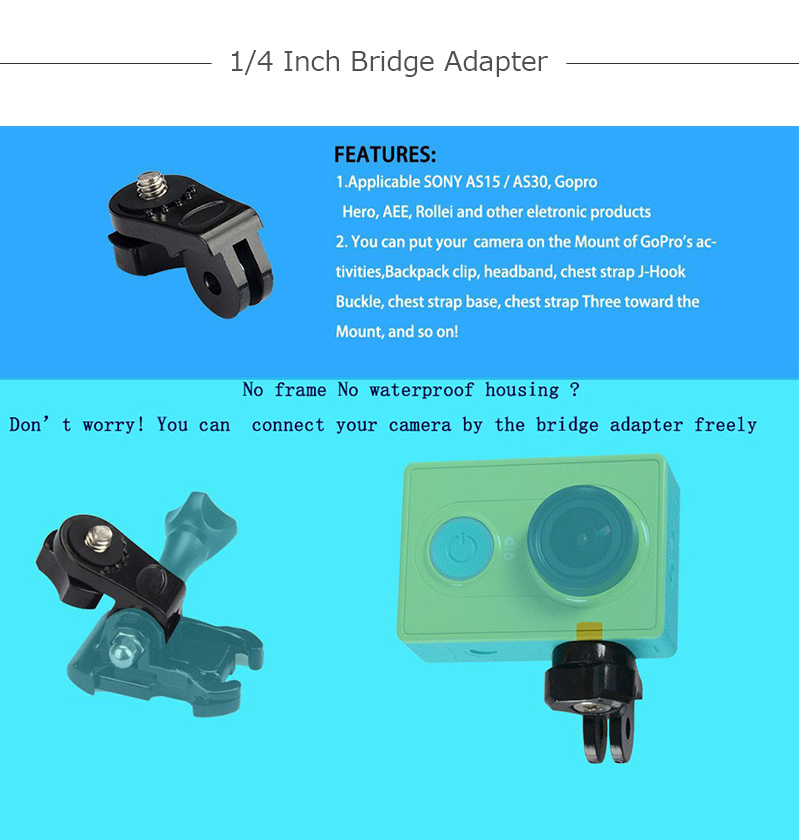 1_4 inch bridge adapter