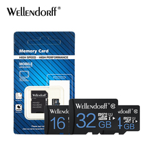 Free shipping carte sd 16gb 64gd card 8gb 4gb microsd card 32gb micro sd 32gb 10 class memory card tf card free adapter(China)
