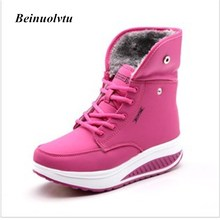 Autumn Winter Sneakers for Women Sports shoes Girls Sneakers boots women shoes Platform sneakers Running shoes 36-40