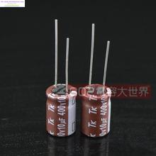 2017 Promotion Rushed Japan Original Tk 400v10uf High Frequency Capacitor 10uf 400v 10*16 Electrolytic 105 Degree Free Shipping(China)