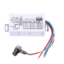 DC 9V 12V 24V 48V 60V 20A Motor Speed Controller Regulator Driver PWM