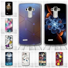 For LG G4 Case 3D Luxury Relief Back Cover For LG G4 H818 H815 5.5 inch Cases Mobile Phone Slim Silicon Protector Funda Capa(China)