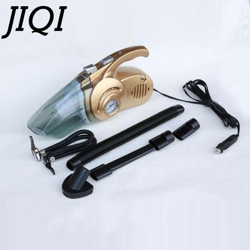 JIQI MINI Car Vacuum Cleaner Wet Dry Dust catcher 12V Vehicle Auto Cigarette Lighter Handheld spirator Hepa Filter With Inflator<br>