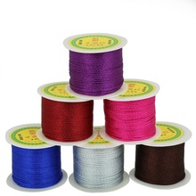 New Product 49yard/roll 2mm Chinese Knot Macrame Cord Braided Sewing Beading String Thread DIY Jewelry & Apparel Accessories