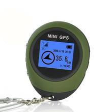 Mini GPS Receiver Tracker+Location Finder Keychain USB Rechargeable For Outdoor Youthful Own Store(China)