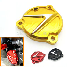 High quality Gold High quality red Motorcycle CNC Front Drive Shaft Cover Guard with TMAX LOGO For Yamaha Tmax  530 2012-2015