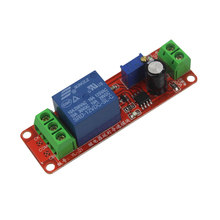 Smart Electronics NE555 DC 12V Delay Relay Shield Timer Switch 0~10S Adjustable Module