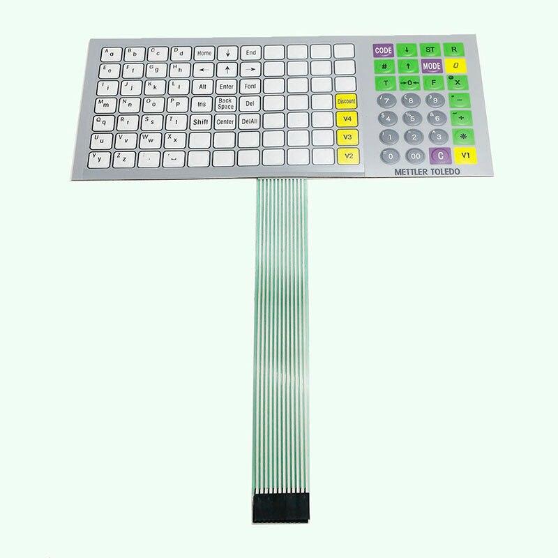 Original New English Version Keyboard Film (Key strengthen edition) For Mettler Toledo 3610s Scale<br><br>Aliexpress