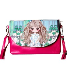 PU leather cartoon children organizer wallet children small money pouch bag coin purse bolso bolsa carteira for kindergaten girl