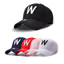 2017 W Letter Embroidery Brand Baseball Cap Snapback Caps Sports Leisure Hats Fitted Casual Gorras Dad Hats For Men Women